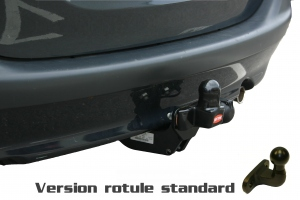 Attelage WITTER pour Ford Fiesta 6 depuis 2002