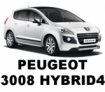 Attelage Invisible Peugeot 3008 Hybrid4