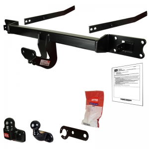 Attelage WITTER pour Iveco  Daily Chassis Cab  30-50  (court)  depuis 6/2014