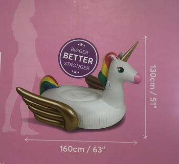 BOUEE LICORNE GONFLABLE