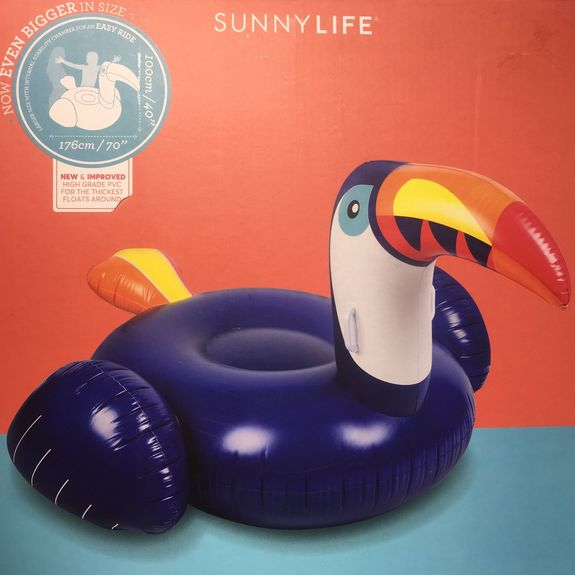 BOUEE GEANTE GONFLABLE TOUCAN