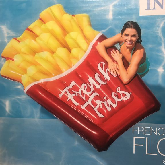 MATELAS GONFLABLE FRITES