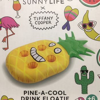 BAR GONFLABLE POUR PISCINE ANANAS TIFFANY  COOPER