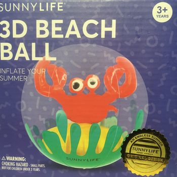 BALLON GONFLABLE 3D CRABE