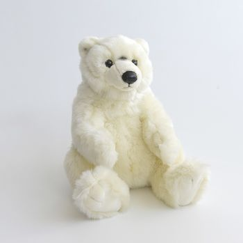 Peluche Ours Polaire 32 cm