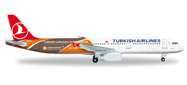 "Turkish Airlines Airbus A321 ""Euroleague"""