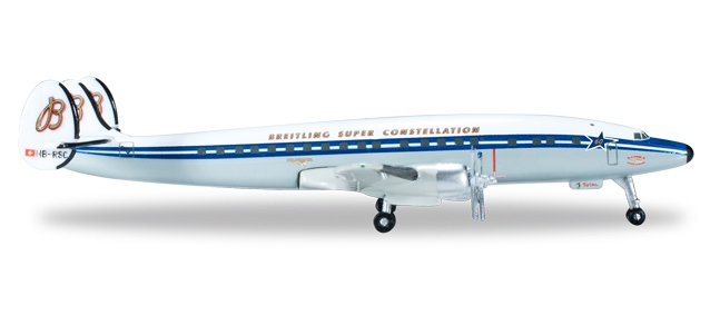 "SCFA / Breitling Lockheed L-1049H Super Constellation ""60th Anniversary"""