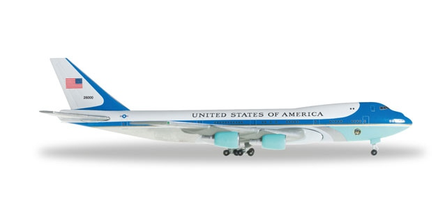 "United States Boeing B747-200 ""Air Force One"""