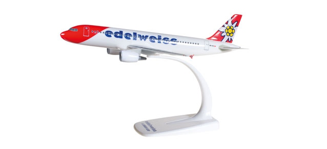 Edelweiss Air Airbus A320 new 2016 colors
