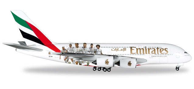 "Emirates ""Real Madrid""Airbus A380"