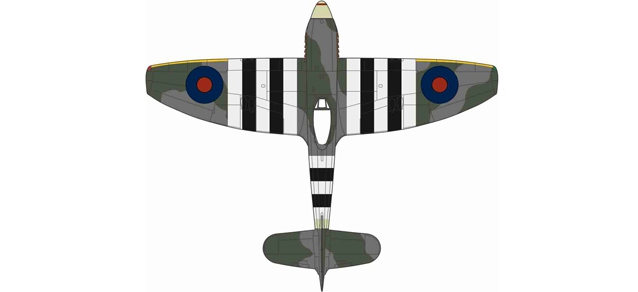 Royal Air Force Hawker Tempest MkV No.3 Sqn. Newchurch 1944