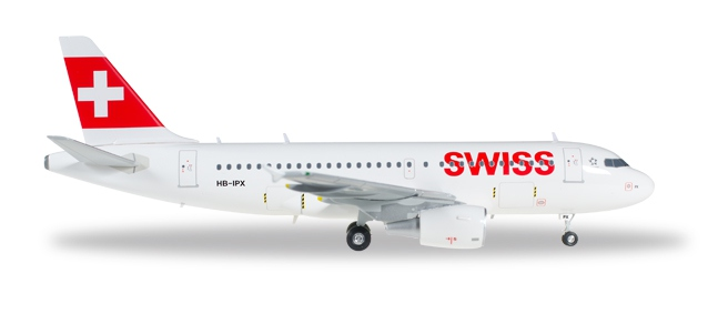 "558020 - Swiss International Air Lines Airbus A319 ""Mont Racine"""