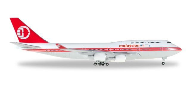 Malaysia Airlines Boeing 747-400 - Retro colors