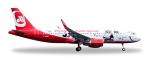 "Airberlin Airbus A320 - ""Lindt Hello - Flying Home for Christmas (V)"""