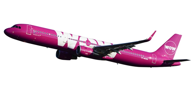 Wow Air Airbus A321