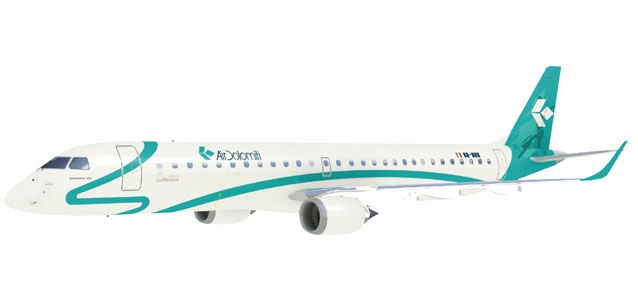Air Dolomiti Embraer E195