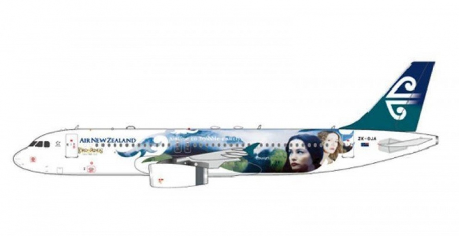 "Air New ZEALAND Airbus A320 ""Lord of the rings"""
