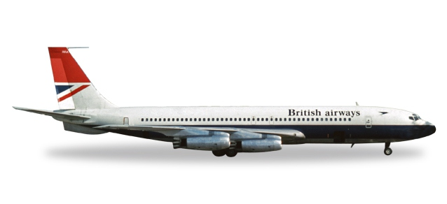 British Airways Boeing 707-400