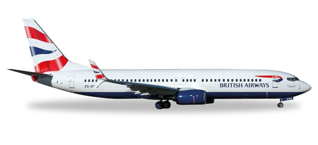 British Airways (Comair) Boeing 737-800