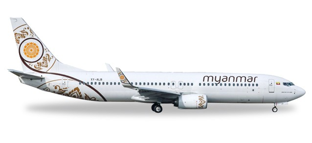Myanmar National Airlines Boeing 737-800 - XY-ALB