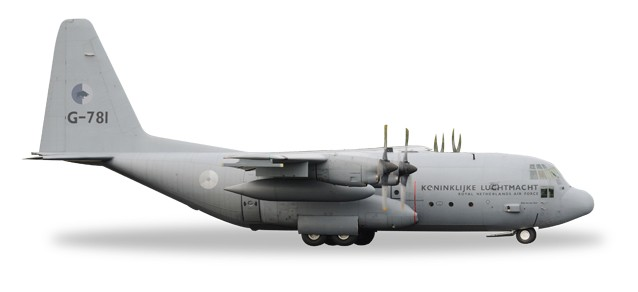 Royal Netherlands Air Force Lockheed C-130H Hercules - 336 Squadron - G-781