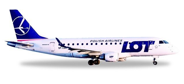 LOT Polish Airlines Embraer E170 - SP-LDH