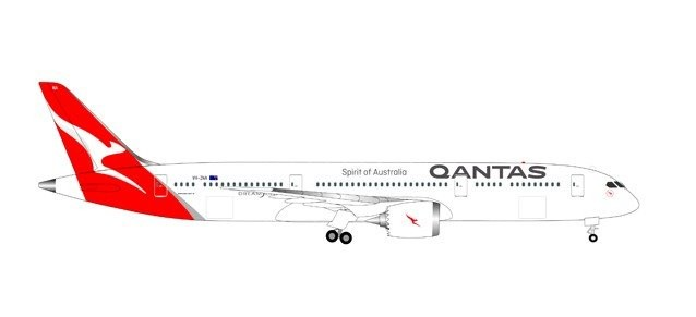 Qantas Boeing 787-9 Dreamliner - new colors