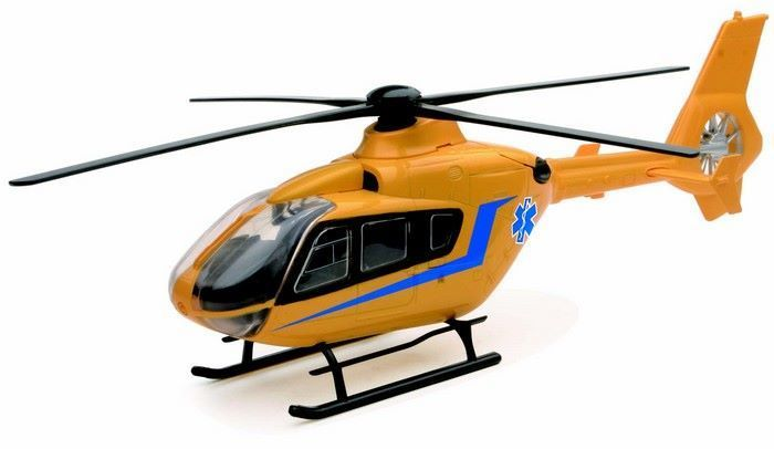Eurocopter EC 135 ambulance yellow