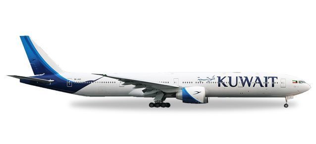 Kuwait Airways Boeing 777-300ER - new colors