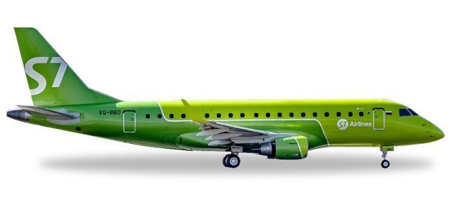 S7 Airlines Embraer E170 - new colors
