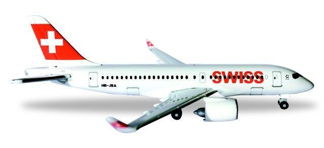 Swiss International Air Lines Bombardier CS100