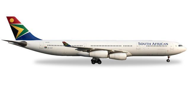 "South African Airways Airbus A340-300 - ""N. Mandela Day"""