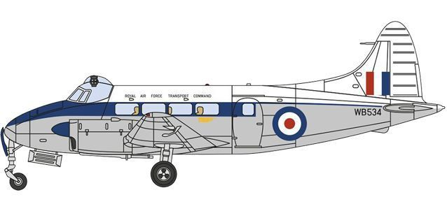 DH104 Devon WB534 RAF Transport Command