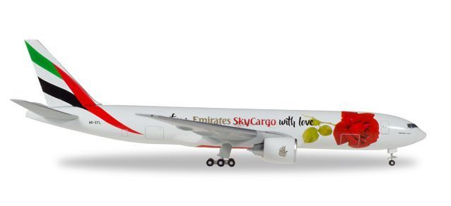 "Emirates SkyCargo Boeing 777F ""From Emirates SkyCargo with love"" - A6-EFL"