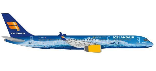 "Icelandair Boeing 757-200 ""80 Years of Aviation"" - TF-FIR ""Vatnajökull"""