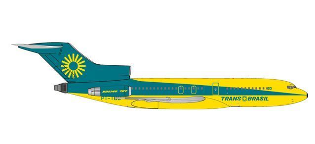 "TransBrasil Boeing 727-100 ""Colorful Energy"""