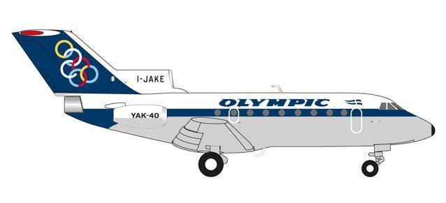 Olympic Airways Yakovlev Yak-40