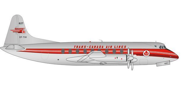 Trans Canada Air Lines Vickers Viscount 700