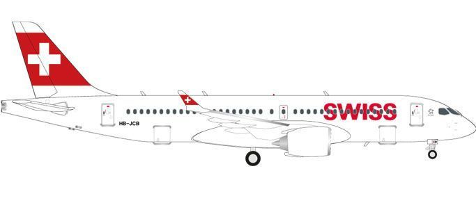 Swiss International Air Lines Bombardier CS300