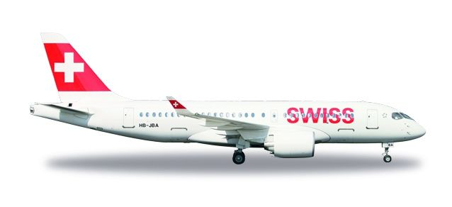 "Swiss International Air Lines Airbus A220-100 ""Canton de Genève"""