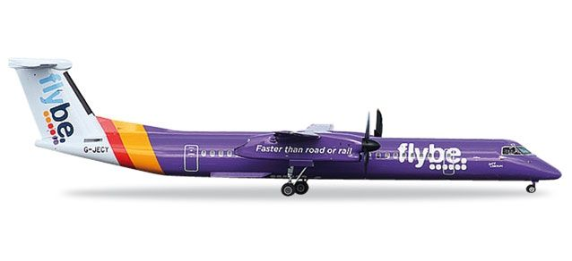 Flybe Bombardier Q400 - new colors