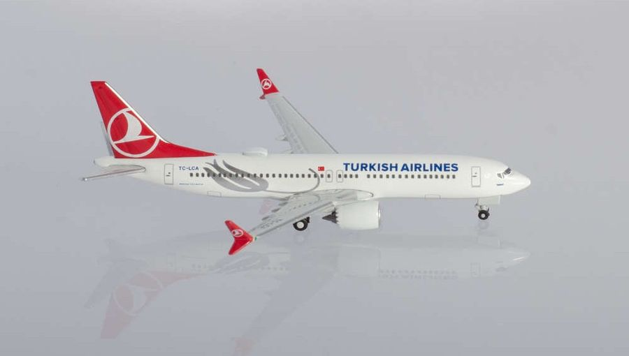 Turkish Airlines Boeing 737B MAX 8