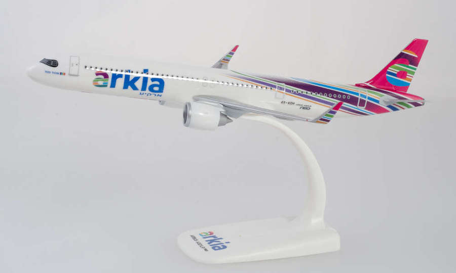 Arkia Israeli Airlines Airbus A321 - Modèle à emboiter