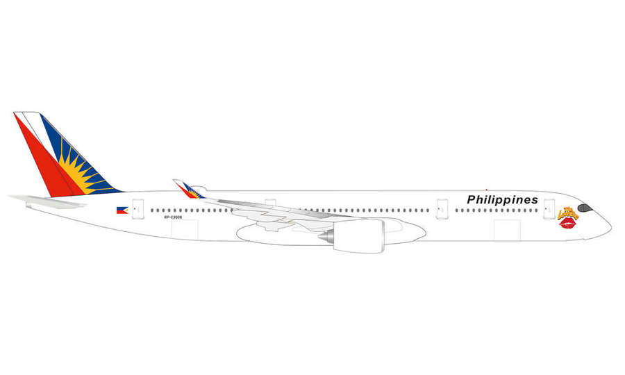 "Philippine Airlines Airbus A350-900 ""The Love Bus"""