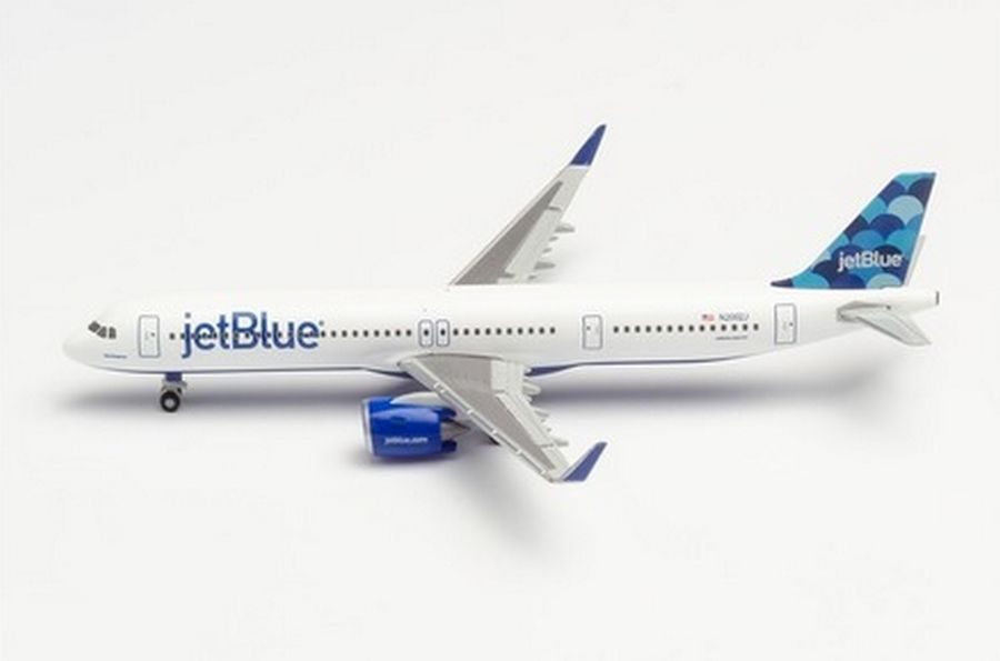 "JetBlue Airways Airbus A321neo ""Balloons"" tail design"