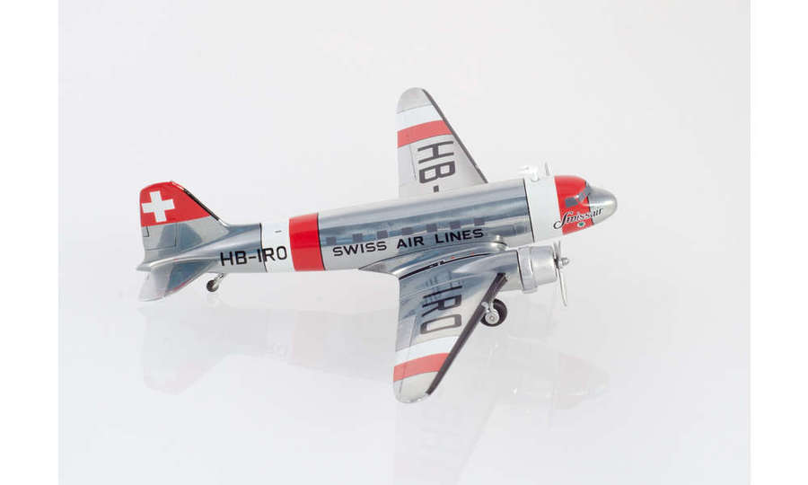 Swissair Douglas DC-3 - neutrality color scheme