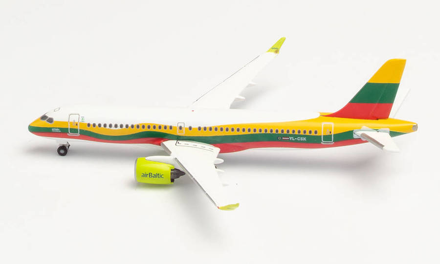 Air Baltic Lithuania Airbus A220-300