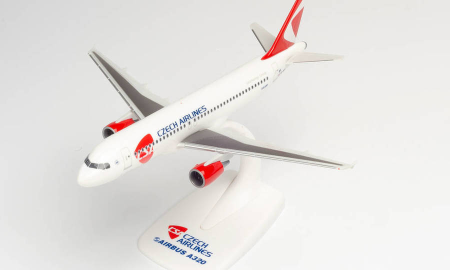 CSA CZECH AIRLINES AIRBUS A320 - NEW 2020 COLORS – OK-HEU