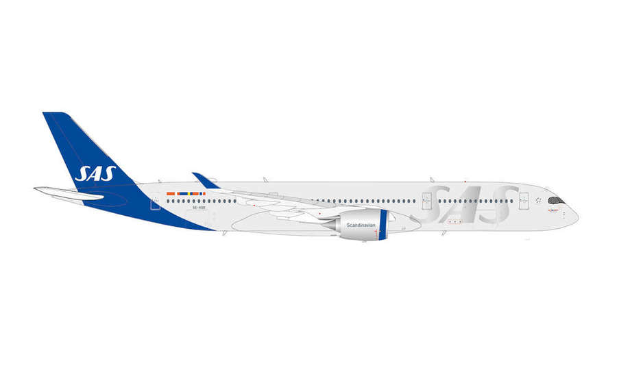 SAS SCANDINAVIAN AIRLINES AIRBUS A350-900
