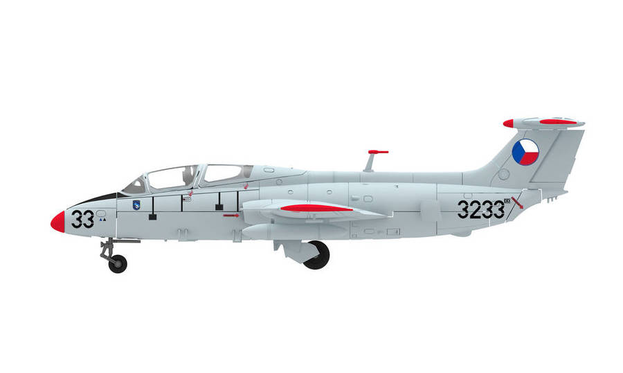 CZECH AIR FORCE AERO L-29 DELFIN - 341ST TRAINING SQUADRON, PARDUBICE AFB, 1998 – 3233